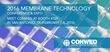 Conwed Highlights RO Feed Spacers at 2016 Membrane Technology Conference