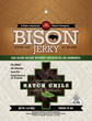 """The New Beef for 2016"": Native American Owned KivaSun Foods Launches Antibiotic Free and No Added Hormone Line of Bison Jerky"