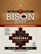 KivaSun Foods Bison Jerky - Original Flavor