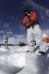 Grand County Colorado Attracts Winter Anglers Hook, Line and Sinker