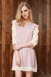 http://www.oasap.com/day/64107-fashion-lace-paneled-three-quarter-sleeve-mini-dress.html