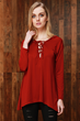 http://www.oasap.com/tanks/62457-solid-color-lace-up-front-long-sleeve-hooded-tee.html