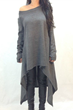 http://www.oasap.com/day/61818-deep-grey-long-sleeve-asymmetrical-knit-dress.html