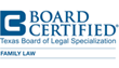 Patricia L. Brown Receives Board Certification in Family Law from the Texas Board of Legal Specialization