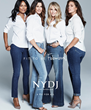 "Lana Ogilvie, Bridget Moynahan, Christie Brinkley, and Ashley Graham are the faces of NYDJ's 2016 ""Fit to Be"" campaign"