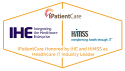 iPatientCare Honored by IHE and HIMSS as Healthcare IT Industry Leader