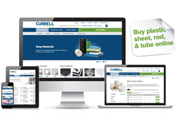 Curbell Plastics Launches New Website and e-Catalog