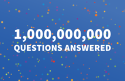 Students answer 1 billion questions in Interactive Achievement's onTRAC assessment solution.