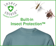 Built in insect protection