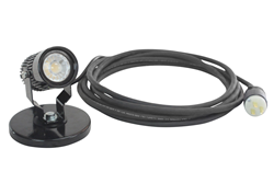 LED Spotlight Equipped with a 100 lbs. grip magnetic base and 25' cord