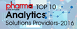 AllegroGraph Recognized Among Top 10 Analytics Solution Providers by Pharma Tech Outlook