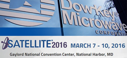 Dow-Key® Microwave to Feature Next Generation Waveguide Switches and Assemblies at Satellite 2016