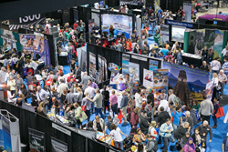 Show floor at the Bay Area Travel & Adventure Show, coming to Santa Clara Convention Center March 5-6, 2016
