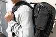 Nómada in backpack style
