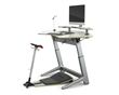 A twist on standing desks; include a healthier stand-assist leaning seat