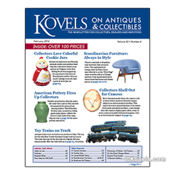 kovels, antiques, collectibles, scandinavian furniture, art pottery, cameos, lionel trains