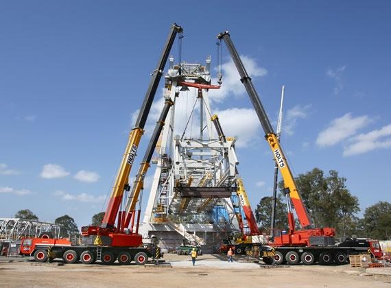 Mobile Crane Hoist : Lift director program announced by crane inspection