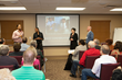 AWOP members present a session on race relations at work. (Memories Matter Photo)