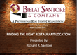 Bielat Santore & Company Announces New Release Date For Webinar Series