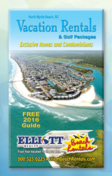 2016 Vacation Rentals and Golf Packages Guide- Myrtle Beach, SC