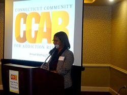 Commissioner Connecticut DMHAS CCAR Annual Meeting 2016
