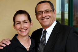 Dr. Heather Furnas and Dr. Francisco Canales