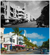 Ruth Shack championed Miami's first historic preservation ordinance (photo of Miami's Beach's historic Art Deco District, courtesy of the Greater Miami Convention & Visitors Bureau)