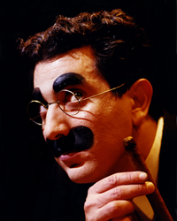"Frank Ferrant stars in ""An Evening with Groucho"" At the Osher Marin JCC"