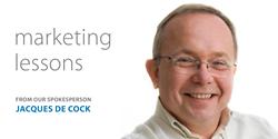 Marketing Lessons by Jacques de Cock