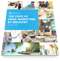 "The report ""The State of Email Marketing by Industry"" analyzes marketing methods and industry trends. Coming Feb 4th, 2016."