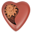 3-D Beating Heart Chocolate Assembly