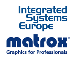 Matrox multi-monitor graphics cards, video wall controller cards and  H.264 encoders & decoders will be featured in action at ISE 2016.