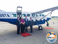 Tropic Ocean Airways Inaugural Flight St. Petersburg, Florida