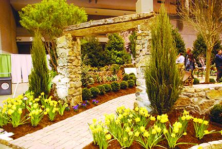 Merveilleux Tour 22,000 Square Feet Of Gardens.Fantastic Gardens At The Home U0026 Garden  Show ...