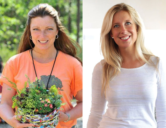 Shawna Coronado And Caryn DuganLearn From Experts At The Home U0026 Garden Show