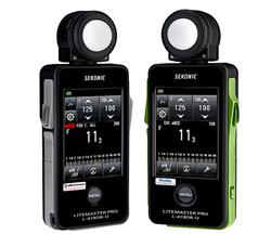 Sekonic L-478 Series LiteMaster Light Meters for Elinchrom & Phottix