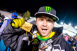Monster Energy's Joe Parsons Takes Gold in Snowmobile Freestyle X Games Aspen 2016
