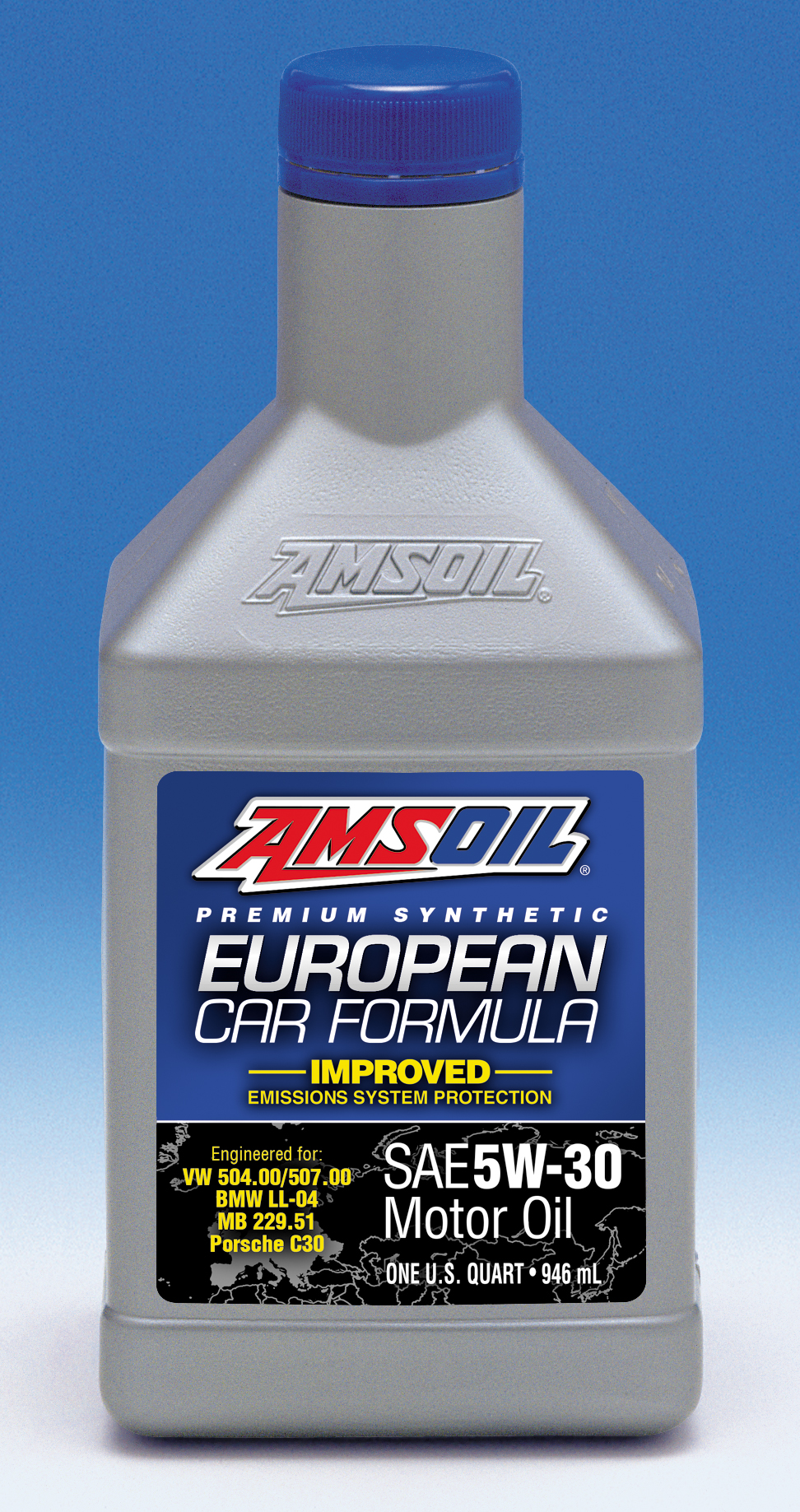 Amsoil reformulates european car formula 5w 30 synthetic for Motor oil for my car
