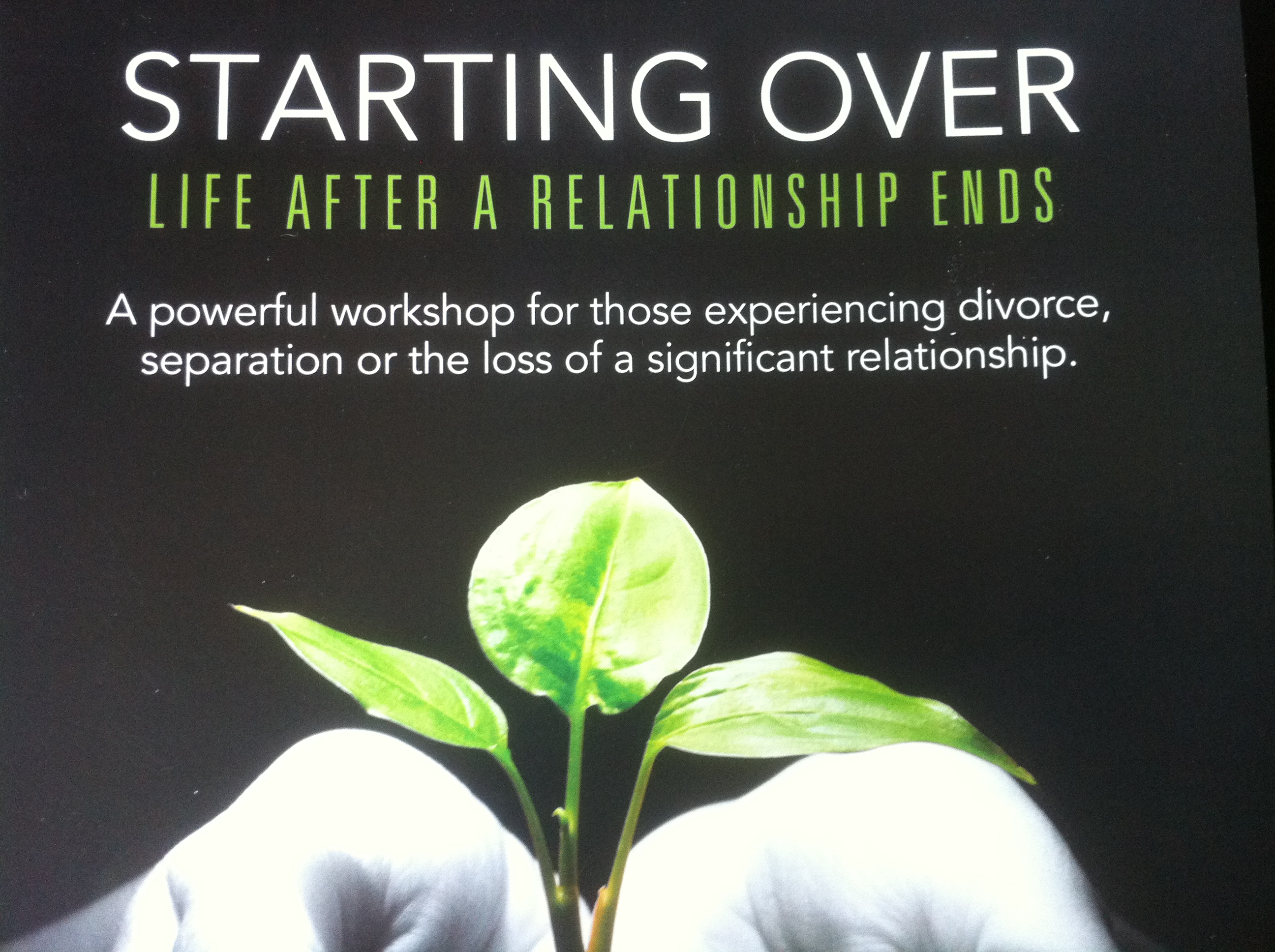 divorce and starting a new relationship