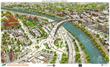 rendering of the new Grand Avenue Bridge in Glenwood Springs
