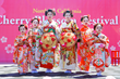 Kimono Dressed Kids on the Main Stage