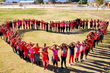 Students from Westside Elementary School Share Their Love