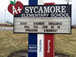 School marquees nationwide announce the joyful week.