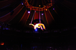 Rui Ling performing aerial at Teatro ZinZanni. Photo by William Anthony.