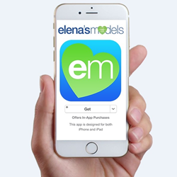Elena's Models free dating app