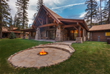 Snake River Sporting Club Tall Timber Cabin Fire Pit