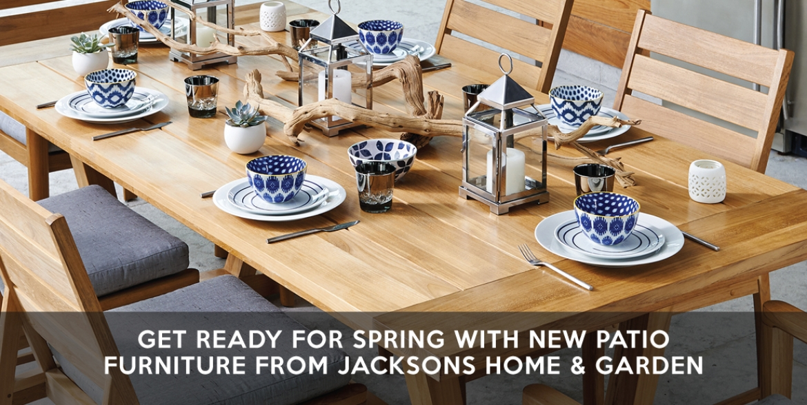 Jacksons Home and Garden Kicks f the Annual Dot Sale Their Biggest Clearan