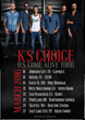 "K's Choice Announces 2016 US Dates for ""Come Alive"" Tour, First US Tour in 10 years"