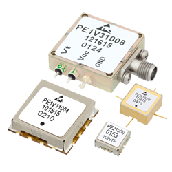 Pasternack's voltage controlled oscillators covering select bands from 10 MHz to 11 GHz