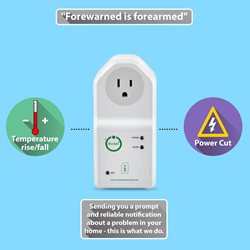 Power Outage & Temperature Monitoring